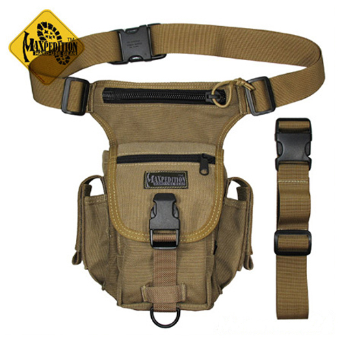 Hip Bag HDT-camo FG Bein-Tasche Termite Versipack tarnfarben Military PDA Hüfte