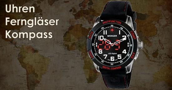 Uhren & Ferngläser & Kompass