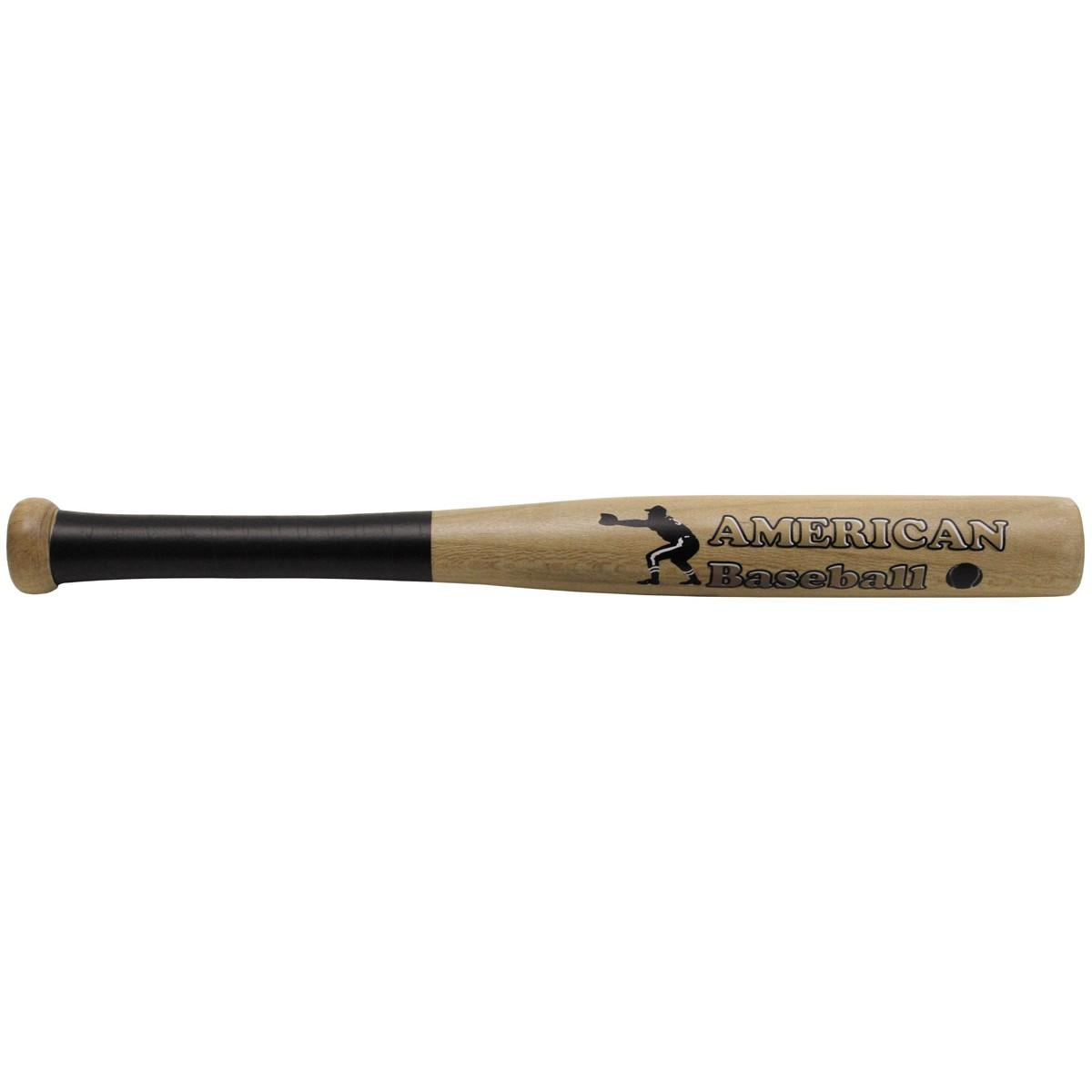 "Baseballschläger, Holz 18"", natur, ""American Baseball"""