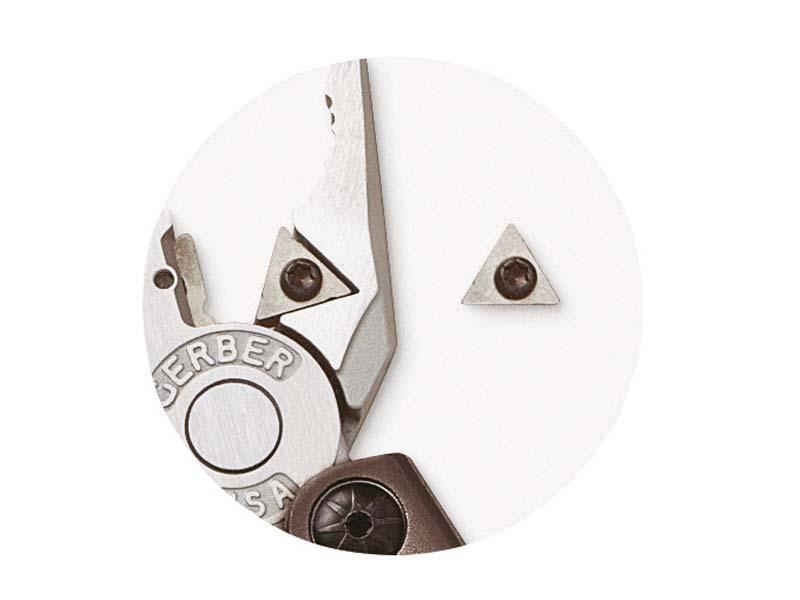 Gerber Tungsten Carbide Cutters Hartmetall-Schneideinsatz,, passend für Gerber Tools 193600 und 185000