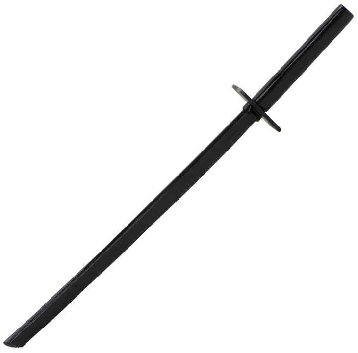 Ninja-Holzschwert schwarz