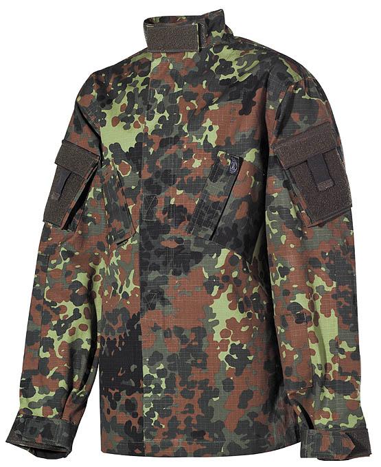 Kinder-Anzug, ACU, flecktarn, Hose u. Jacke, Rip Stop