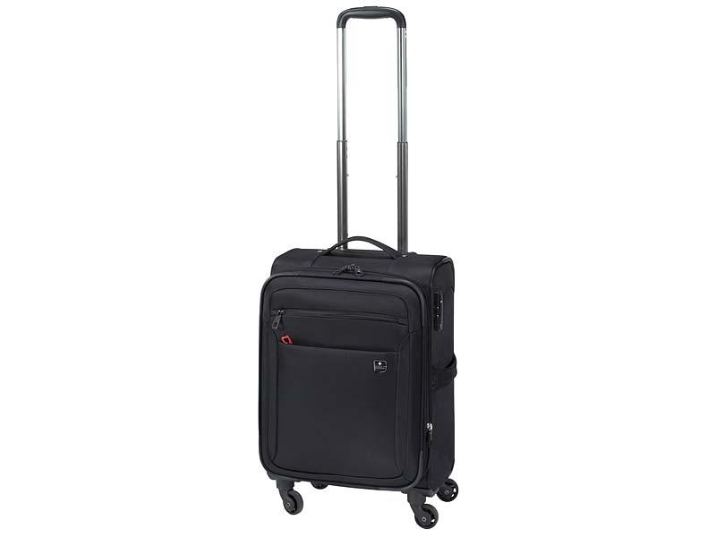 SWIZA Mehrzweck-Koffer Trolley Eventual, 4 Räder, Taschen, 45 L