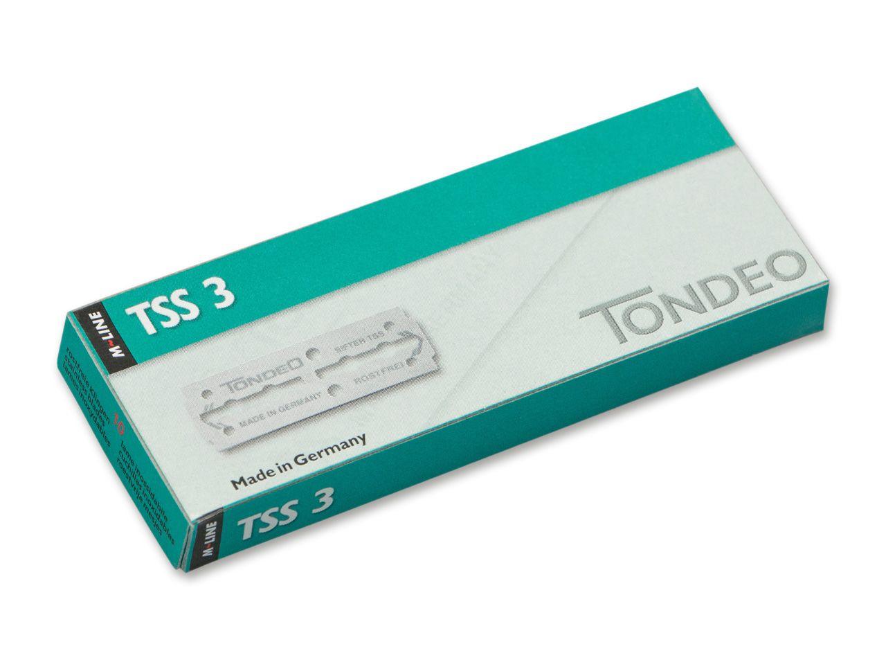10 TSS 3 Rasierklingen