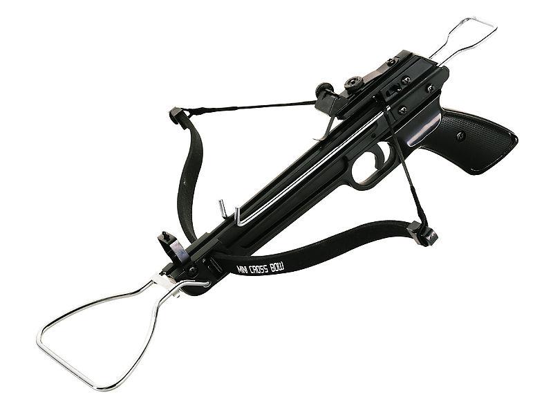 Armbrustpistole Power-Shooter,inklusive 3 Metallpfeile,