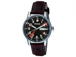 Wenger Uhr Commando, mit Leder-Armband, NICHT MEHR LIEFERBAR