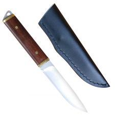 schlankes Messer mit Lederscheide legal führen