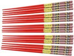 Stäbchen Bambus verz. 10 Paar