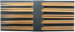 Stäbchen Holz, hellbraun 5 P.r