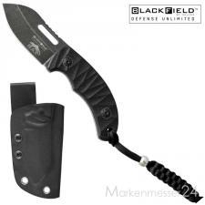 BlackField RAT kleines handliches Messer mit Kydex-Scheide und Lanyard