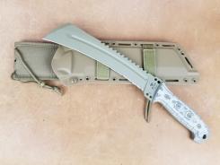 Buck TALON 808 Karambit Machete, 5160 Stahl, G10, M.O.L.L.E. Scheide