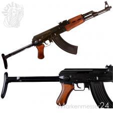 Kalashnikov AK-47 AKS m. Schulterstütze russ. Maschinengewehr Metal Deko-Waffe