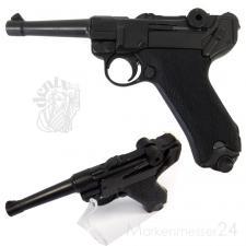 Luger-Pistole PO8 Parabellum Deko Nachbau