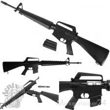 M16 A1 Maschinengewehr Sturmgewehr Metal Deko-Waffe Vietnam