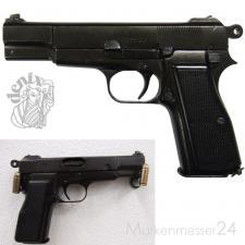 Pistole Browning HP/GP35 Deko Nachbau Schusswaffe Metall