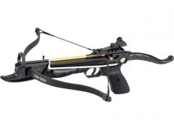 Ek-Archery Armbrustpistole Cobra, Zuggewicht 36,3 kg(80lbs.), schwarzer Aluminiumkörper, verstellbares Visier, 3 Bolzen