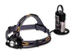 Stirnlampe Fenix HP30R Schwarz