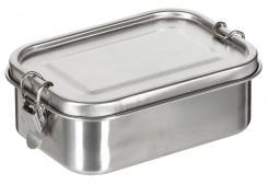 """Lunchbox, """"Premium"""", Edelstahl, ca. 16 x 11, 5 x 6 cm"""