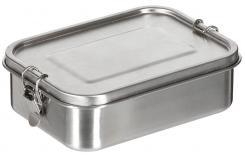 """Lunchbox, """"Premium"""", Edelstahl, ca. 19x14, 5x6, 5 cm"""