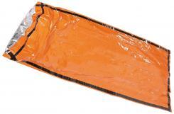Notfall-Biwaksack, orange, einseitig alubeschichtet