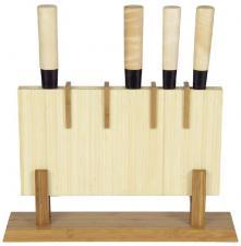 Block für 5 Kochmesser Bambus