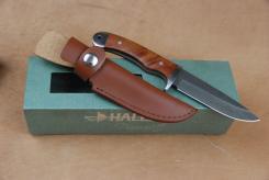 Damast Messer 39 Lagen mit Lederscheide