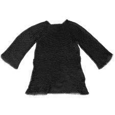Kettenhemd m.Kopfteil schwarz