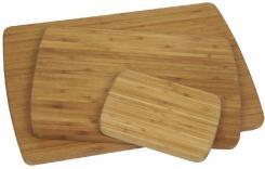 Schneidbrett klein, braun, Bambus