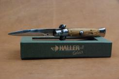 Haller Select Springmesser Olive schwere Ausführung