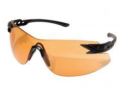 Edge Tactical Safety Eyewear, Notch, Schießbrille, Brille, Tiger`s Eye Vapor Shield