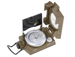 Herbertz-Kompass, flüssigkeitsgedämpft 360 Grad Dämmerungsmarken