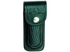 Messer-Etui,sws Leder + Prägemuster ,für Messer + 11cm Heftlänge