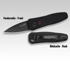kleines Springmesser Kershaw 7500BLK LAUNCH 4 Automatic Tactical knife