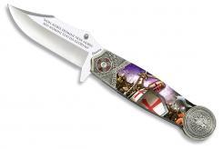 Taschenmesser Templer Ritter federunterstützte Klinge Mod4 Schlacht