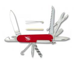 15 Funktionen Taschenmesser, mit Säge, Schere, Pinzette u.v.m.