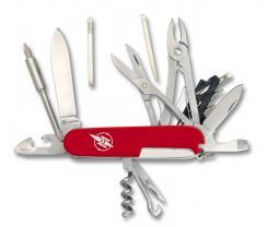 21 Funktionen Taschenmesser, mit Bits, Zange, Schere, Pinzette u.v.m.