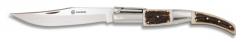Edles Zweihand Taschenmesser ARABE CARRACA Nº0. mit Horn-Griff Nagelhau