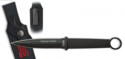RUI BOTERO Einsatz- Dolch Titan beschichtet mit Nylon-Scheide