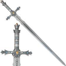 Schwert König Arthus mit schön verziehrtem Griff