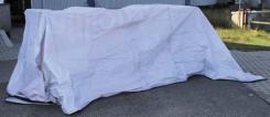 Abdeckplane, Gr.12,0 x 3,2 m, extra Randverstärkung, neuw.
