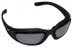 """Armee Sportbrille, """"Assault"""", schwarz, 3 Ersatzgläser"""