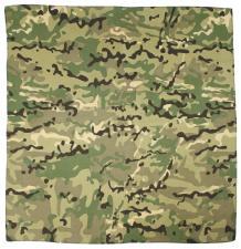 Bandana, operation - camo, Gr. 55 x 55 cm, Baumwolle Mundschutz Mund- Nase- Schutz