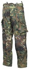 BW Kampfhose, Einsatz/Übung, flecktarn