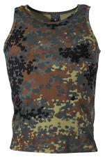 BW Tarn Tank-Top, flecktarn, 160g/m²