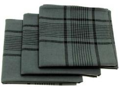 BW Taschentuch, Gr. 50x50 cm, 3-er Pack