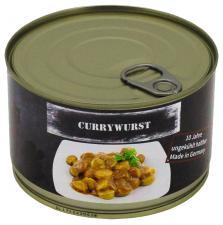 Currywurst Vollkonserve, 400 g, 7% Mwst.
