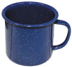 Email-Tasse, blau, 0,35 l, Durchm. 8 cm