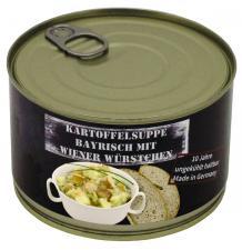 Kartoffelsuppe m.Wiener Würst. Vollkonserve, 400 g, 7% Mwst.