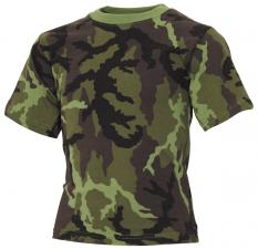 Kinder T-Shirt, M 95 CZ tarn, halbarm