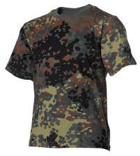 Kinder T-Shirts, flecktarn, halbarm